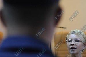 Тимошенко просит у тюремщиков разрешения ходить по Харькову