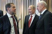 Азаров увидел у Путина и Медведева желание решить газовый вопрос