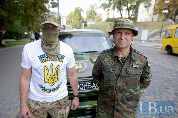 Бойцы «Донбасса» Сэт и Брокер