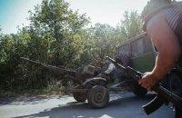 За добу бойовики 56 разів відкривали вогонь по позиціях військових у зоні АТО
