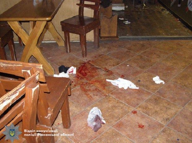 НаРовенщине из-за взрыва гранаты вкафе пострадали 6 человек