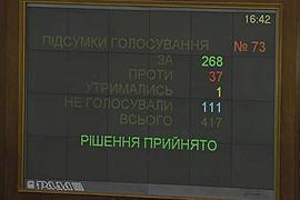 Рада приняла измененный Януковичем Налоговый кодекс