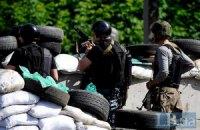 В Славянске террористы обстреляли блокпосты Нацгвардии из храма