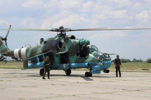 Украина вернула из Либерии три боевых вертолета