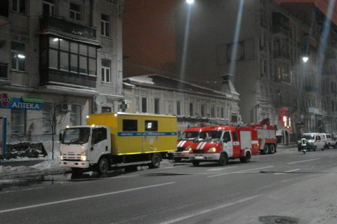 Бездомный устроил пожар вжилом доме— Киев