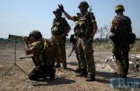 За ночь потерь среди украинских военных нет