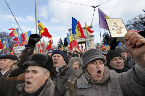 В Кишиневе возросло количество полицейских, пострадавших в ходе воскресной акции протеста