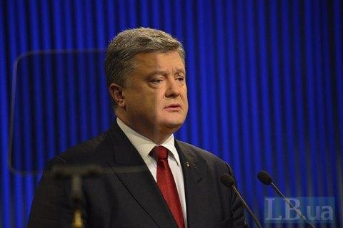 Порошенко: Україна готова постачати електроенергію вКрим, але тільки вукраїнський Крим