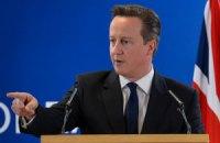 Кэмерон: ЕС вводит экономические, торговые и финансовые ограничения против Крыма