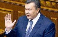 Янукович внес в Раду измененный закон об обороне