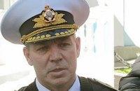 Командующего ВМС Украины вывели из штаба в Севастополе