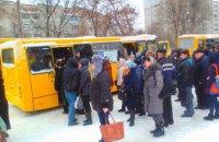 Во Львове из-за морозов не выехали на маршруты половина автобусов