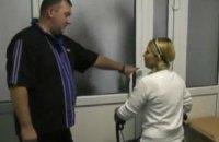 Тимошенко снова отказалась от лечебных процедур