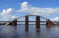 Кличко обязался открыть Подольский мост в 2019 году