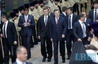 В местах пребывания Януковича запретили мобильные телефоны