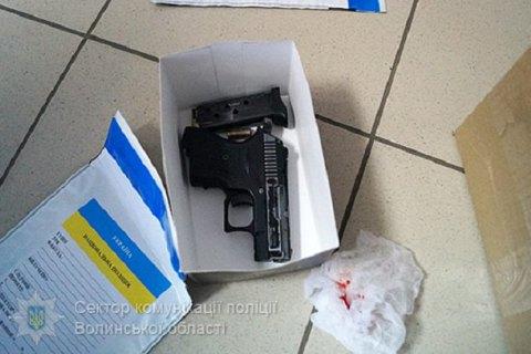 Полицейские применили оружие при задержании преступников банка вЛуцке