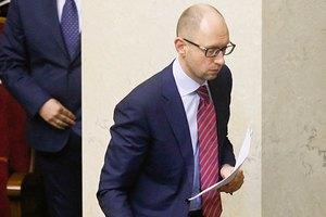 Яценюк едет в США на консультации по урегулированию ситуации в Украине