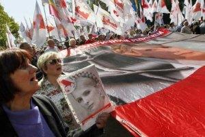 В Харькове к больнице с Тимошенко сходятся оппозиционеры