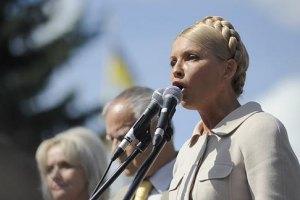 Тимошенко считает вопросом времени выход из тюрьмы