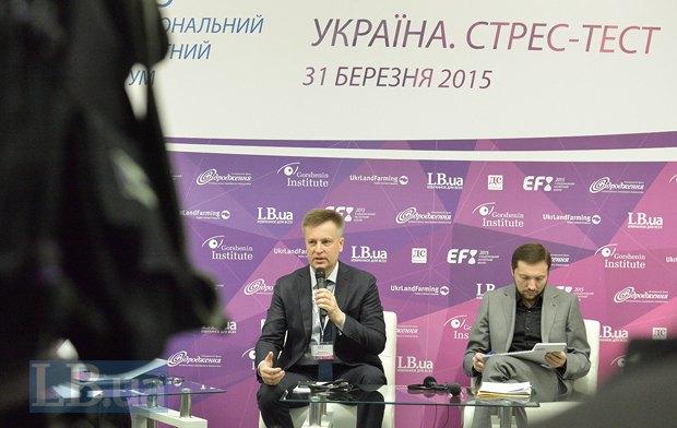 Валентин Наливайченко и Юрий Стець, министр информационной политики