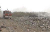 Троих спасателей привалило мусором на свалке под Львовом (обновлено)