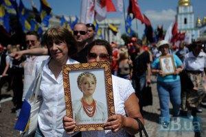 Оппозиционеры сняли фильм о 731 дне ареста Тимошенко