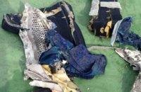 Минобороны Египта распространило фото обломков пропавшего A320
