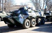 Военное командование получило БТРы с кондиционерами