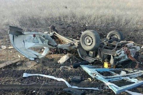Наблокпосту «Новомихайловка» наДонбассе подорвался пассажирский автобус, есть погибшие — ДНР