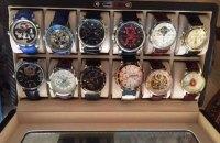 У зампрокурора Ровенской области при обыске найдена коллекция часов стоимостью более $100 тыс.