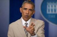 Обама в разговоре с Путиным потребовал вывести российские войска из Украины