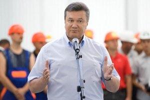 Янукович обещает Харькову деньги на метро