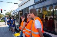 ЕС купил для Мариуполя четыре троллейбуса Днепр Т103