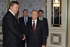 Путин ничего конкретного по Таможенному союзу не предлагал, - Янукович
