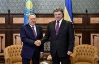 Порошенко принял Назарбаева