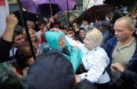 Тимошенко не опоздала на суд