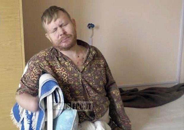 Владимир в больнице в ЛНР