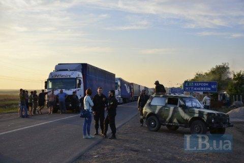 Активисты блокады Крыма разрешили запустить восстановленную ЛЭП