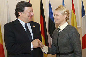Тимошенко призвала Баррозу ускорить подписание Соглашения об Ассоциации с ЕС