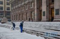 Власти Киева начали выписывать штрафы за несвоевременную уборку снега