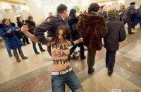 Путин сожалеет, что не видел акцию FEMEN в день выборов