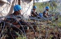 Украинские миротворцы не пострадали в столкновениях в Южном Судане