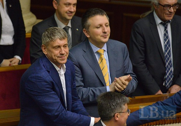Игорь Насалик(слева)