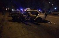 В Хмельницком в ДТП с патрульными погиб водитель такси