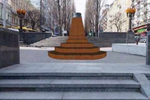 На місці пам'ятника Леніну з'явиться арт-інсталяція мексиканської художниці