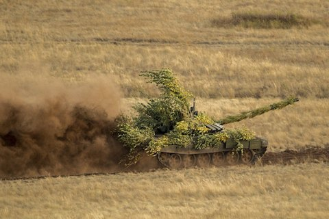 РФ  уграницы с государством Украина  строит еще одну военную базу