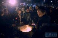 ГАИ остановила автоколонну из Луцка на подъездах к Киеву