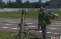 Боевики сняли на видео, как обстреливают Шахтерск