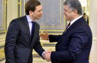 Порошенко встретился с главой ОБСЕ