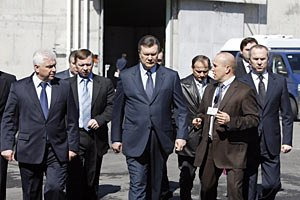 Януковича у Львові зустрічатимуть пікетами
